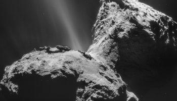 Rosetta's comet 67p. Image credit: ESA/Rosetta/NAVCAM – CC BY-SA IGO 3.0