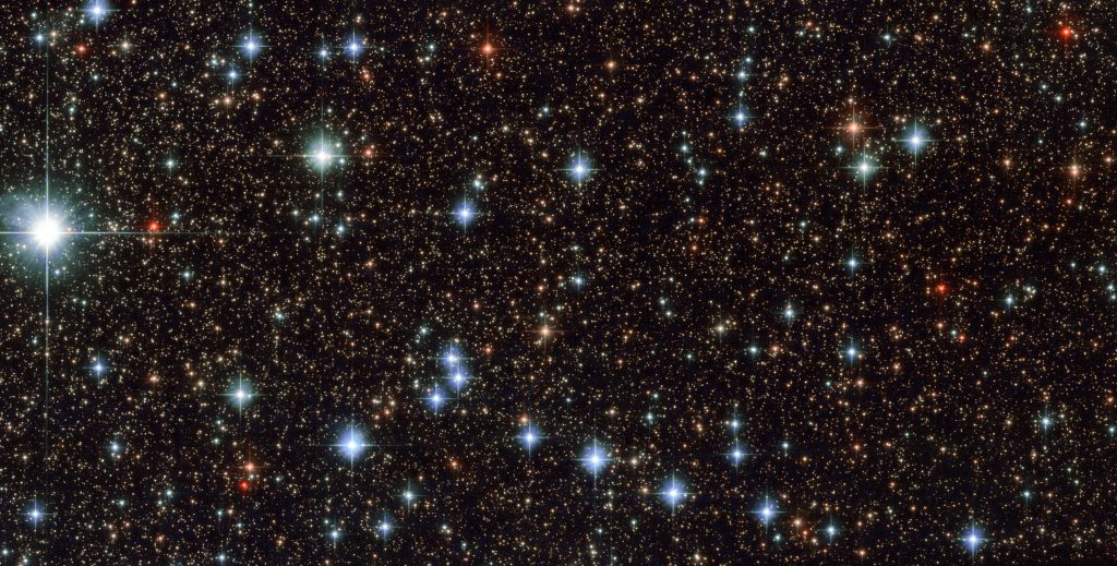This stunning image, captured by the NASA/ESA Hubble Space Telescope's Advanced Camera for Surveys (ACS), shows part of the sky in the constellation of Sagittarius (The Archer). Credit: ESA/Hubble & NASA, CC BY 4.0