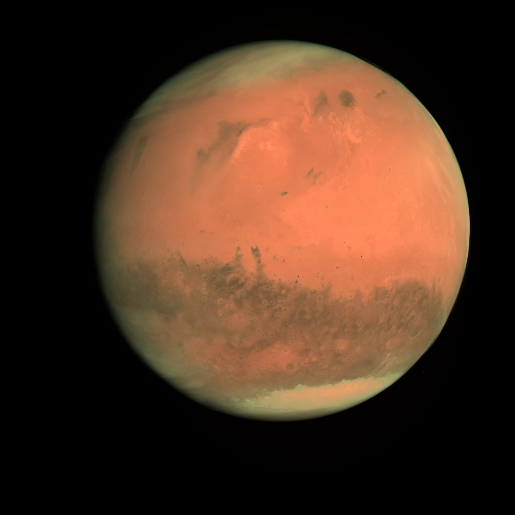 Mars as seen by Rosetta's OSIRIS camera (2007)